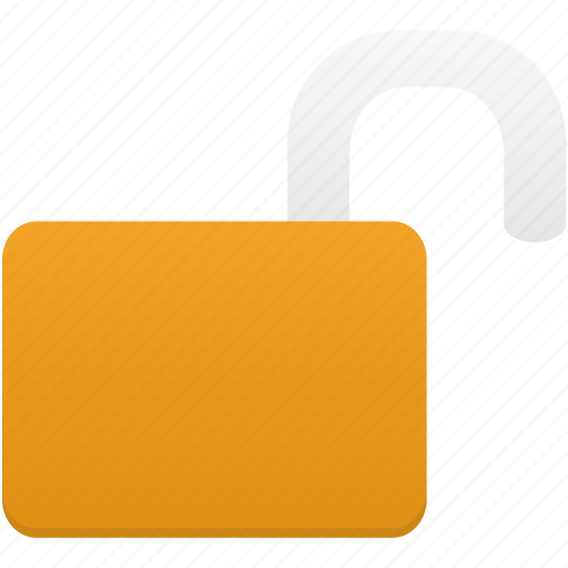 lock, password, protection, safety, secure, security, unlocked icon