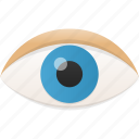 eye, find, look, see, view, vision, zoom icon