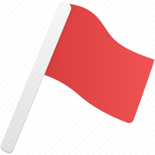 flag, flags, red icon