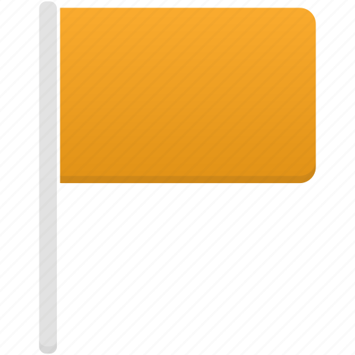 Flag, orange, flags icon - Download on Iconfinder
