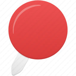 location, pin, red icon