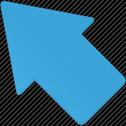 arrow, arrows, direction, left, up, upleft icon