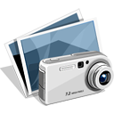 7, capture, image icon
