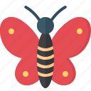 activity, butterfly, camping, gear, outdoor icon
