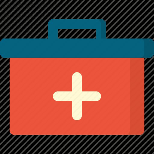 activity, bag, camping, doctor, gear, outdoor icon