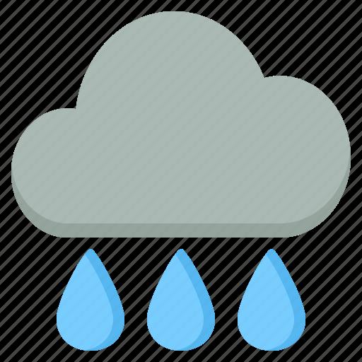 activity, camping, gear, outdoor, rain icon