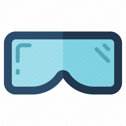 activity, camping, gear, googles, outdoor, ski icon