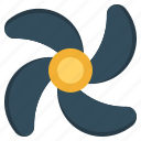 auto, automobile, cooling, fan, transport, vehicle icon
