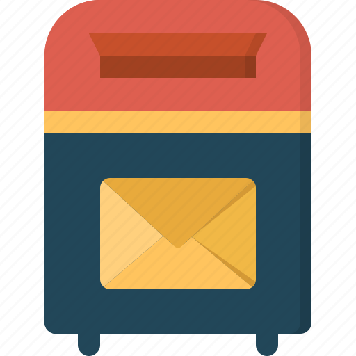 box, communication, connection, contact, mail icon