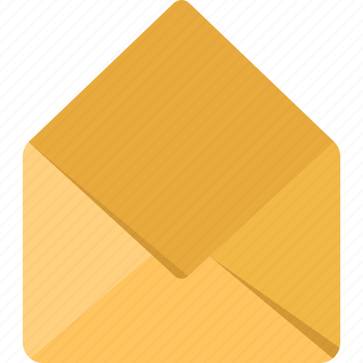 communication, connection, contact, mail, open icon