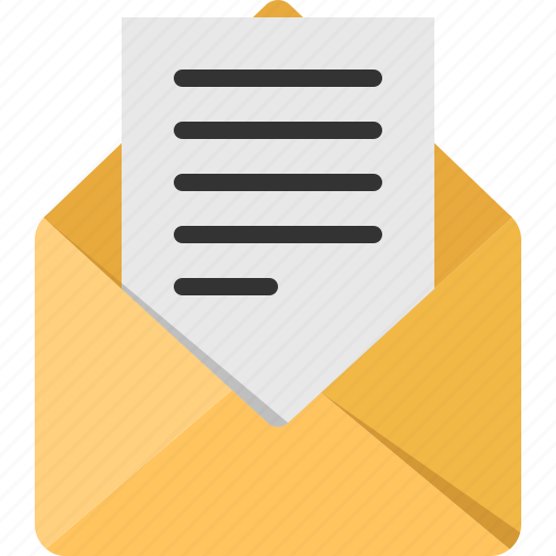 communication, connection, contact, mail, read icon