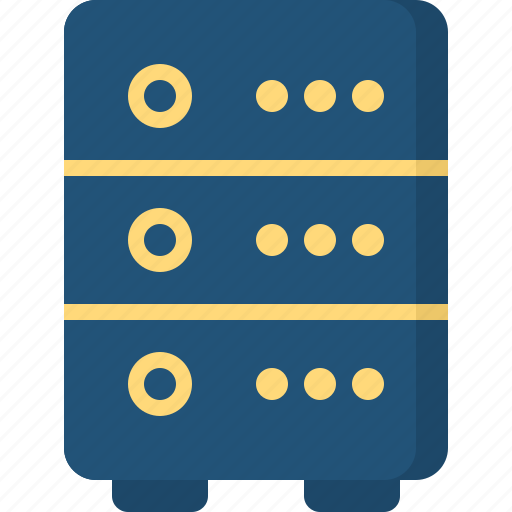 communication, connection, contact, servers icon