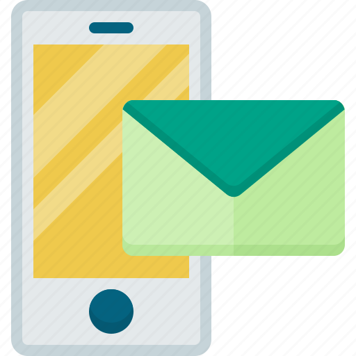 communication, connection, contact, mail, smartphone icon