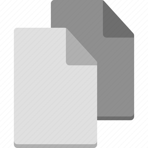 blank, computer, digital, files, note, organization icon