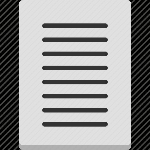 computer, contents, digital, file, note, organization icon
