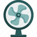 appliances, devices, electronics, fan, technology icon