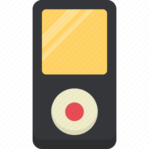 appliances, devices, electronics, mp3, player, technology icon