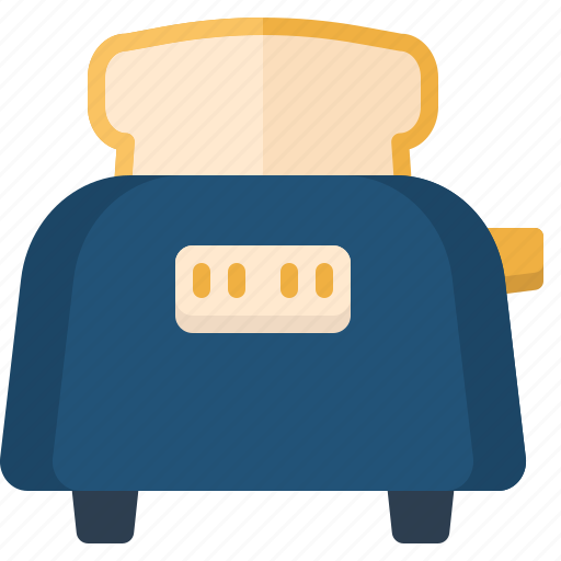 appliances, devices, electronics, technology, toaster icon