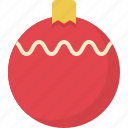ball, christmas, entertainment, fun, holiday, party icon