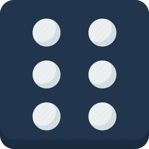 dice, entertainment, fun, holiday, party icon