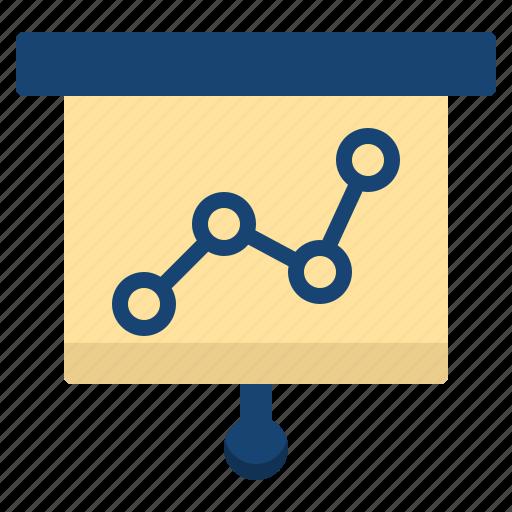 business, charts, commerce, economics, money icon