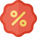 badge, business, commerce, discount, economics, money icon