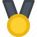 business, commerce, economics, medal, money icon
