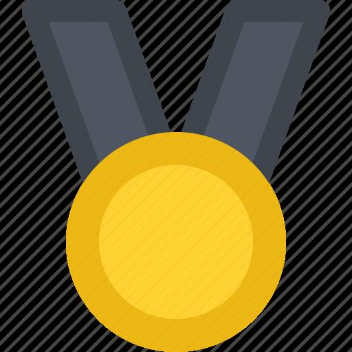 business, commerce, economics, medal, money icon