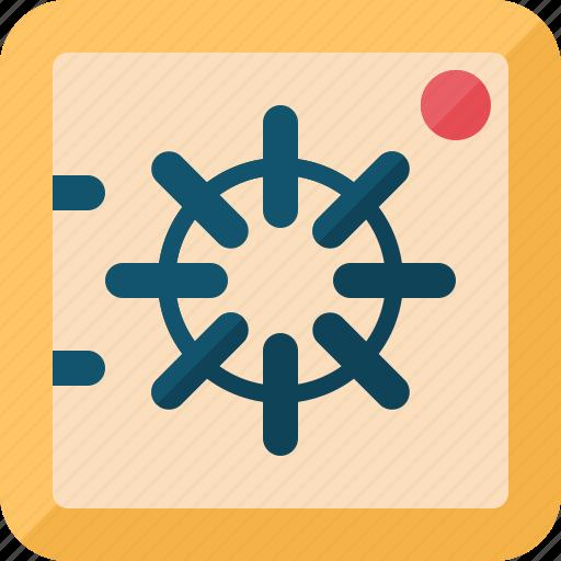 box, business, commerce, economics, money, safe icon