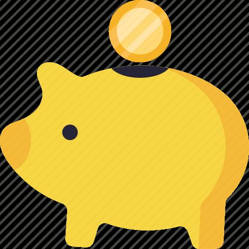 business, commerce, economics, money, savings icon