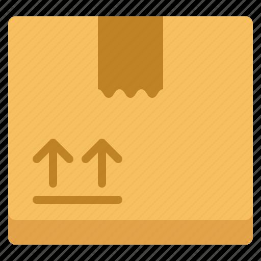 box, business, commerce, economics, money, shipping icon