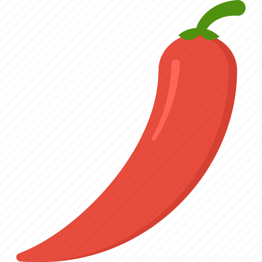 chilli, cooking, food, meal, pepper, snack icon