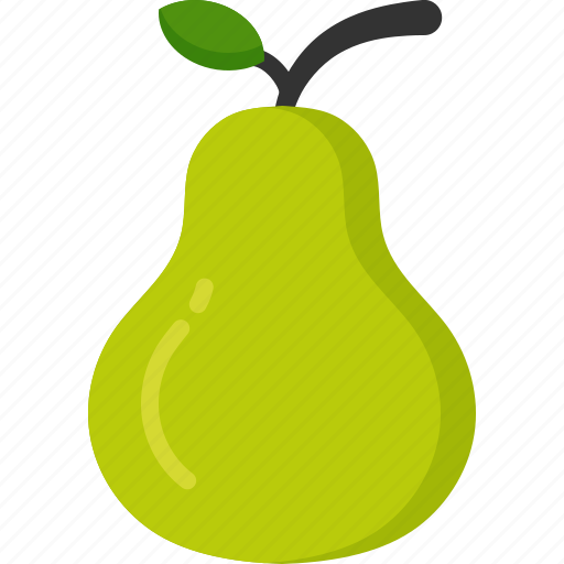 cooking, food, meal, pear, snack icon