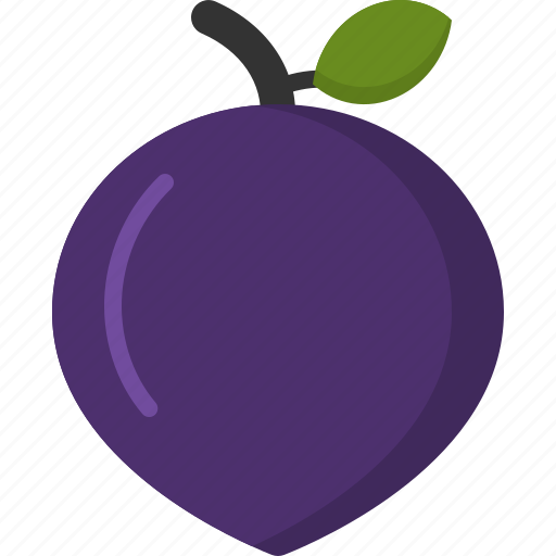 cooking, food, meal, plum, snack icon