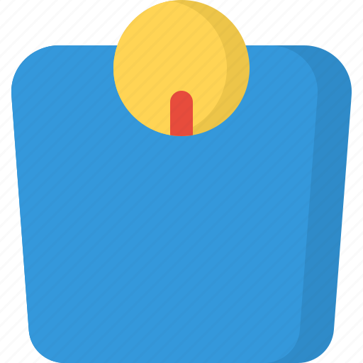 body, fitness, health, human, scale, weight icon