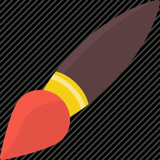 brush, communication, design, love, security icon