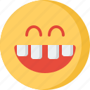 communication, design, love, security, smile, teeth icon
