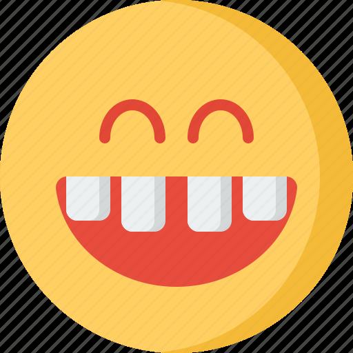 communication, design, love, security, smile, teeth icon
