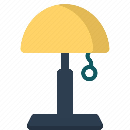 clothing, furniture, gadgets, lamp, table, tools icon