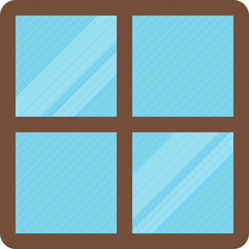 clothing, furniture, gadgets, tools, window icon