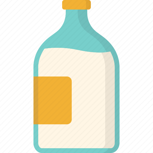 agriculture, bottle, farming, industry, milk, production icon