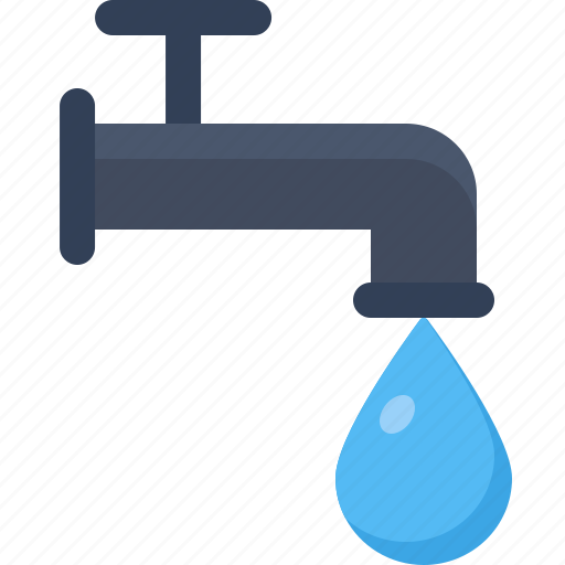 agriculture, farming, industry, production, tap, water icon