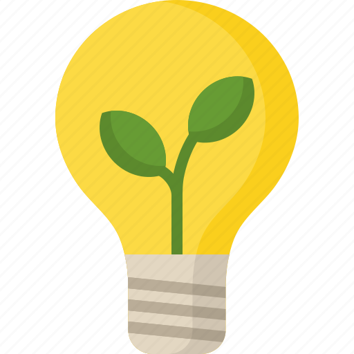 eco, education, lamp, learn, school, science icon
