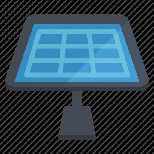 education, learn, panel, school, science, solar icon