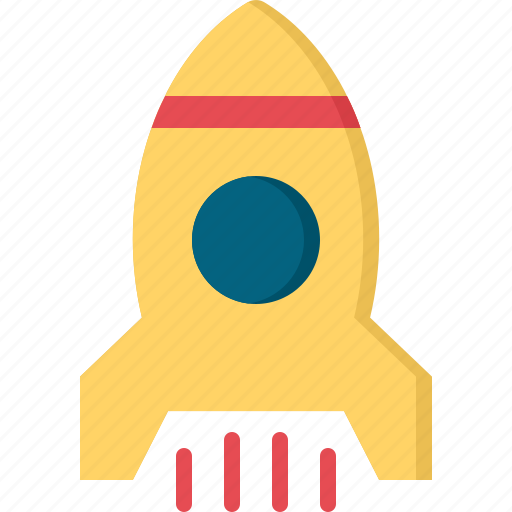education, learn, school, science, spaceship icon