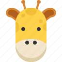 giraffe, tip, tour, travel, vocations icon