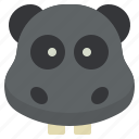 hippo, tip, tour, travel, vocations icon