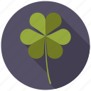 botany, clover, leaf, nature, plant, tree icon