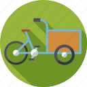 bicycle, cargo bike, delivery, ecology, environment, sustainable, transportation