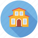 building, home, house, real estate, realty, villa icon
